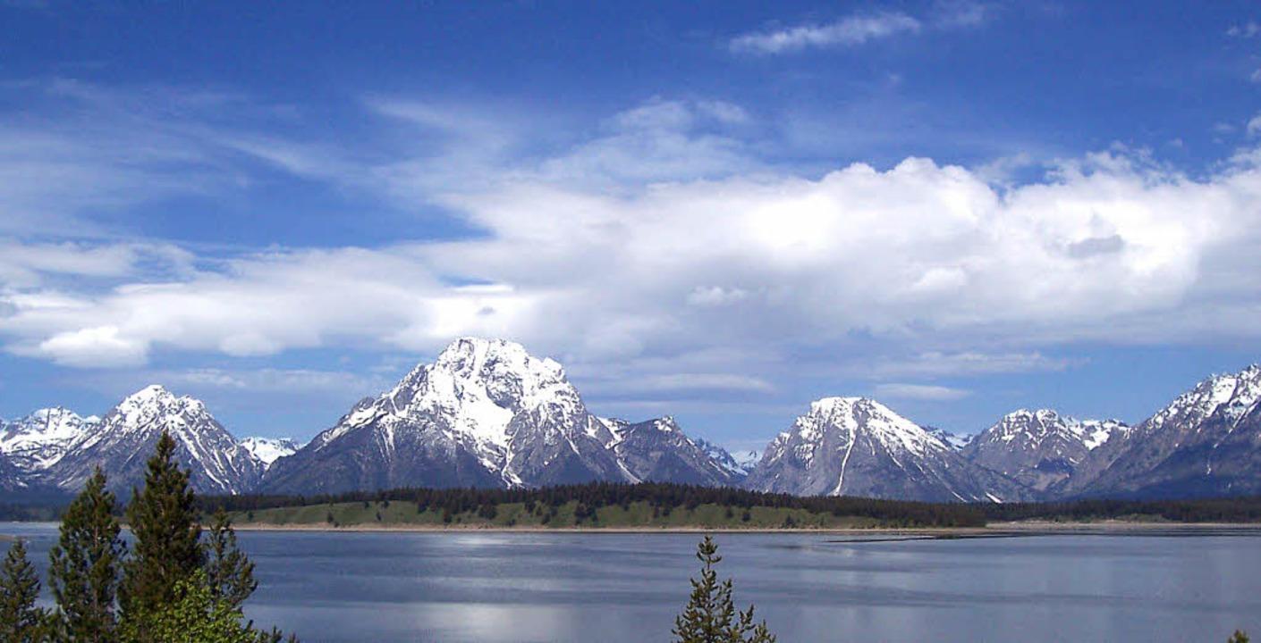 Atemberaubende Naturkulisse: Mount Mor...son Lake im  Grand Teton National Park  | Foto: www.nps.gov (4)/Krimphove (1)