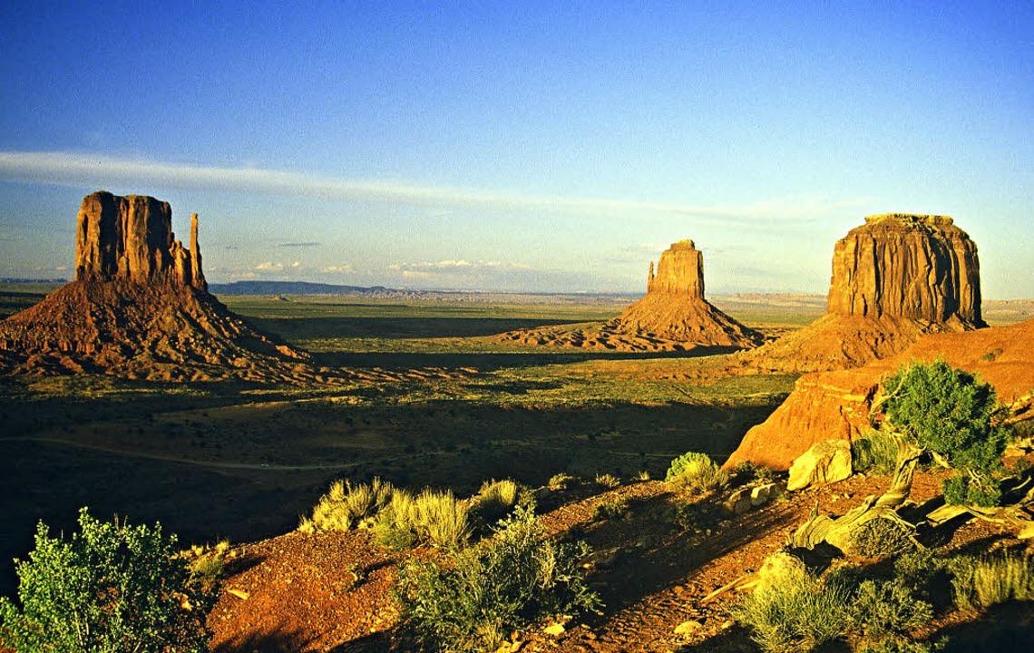 Die Wüsten  Arizonas gehören zu den be...tionalpark-Landschaften  Nordamerikas.  | Foto: usage Germany only, Verwendung nur in Deutschland