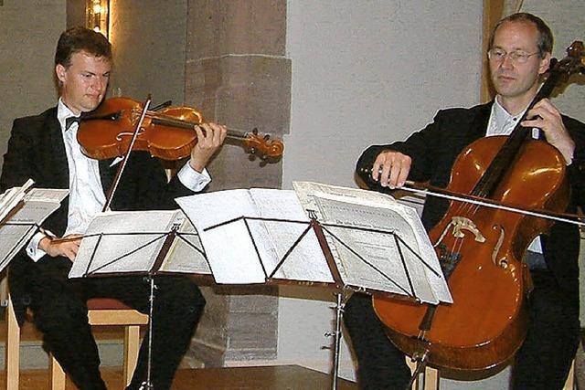 Großer Kammermusikabend der Fünf-Sterne-Kategorie