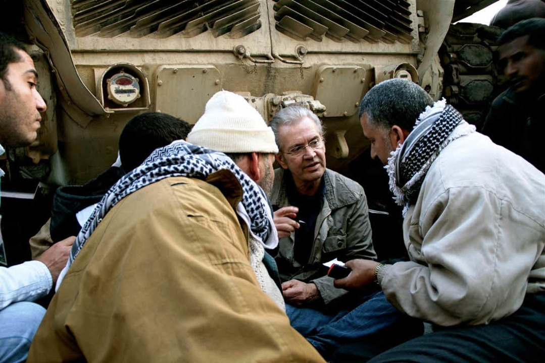 Prominenter Kritiker der Kriege in Afghanistan und Irak: Jürgen Todenhöfer.