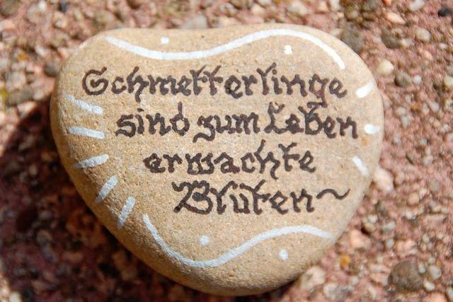 Geheimnisvoller Steinschreiber vom Liliental meldet sich zu Wort