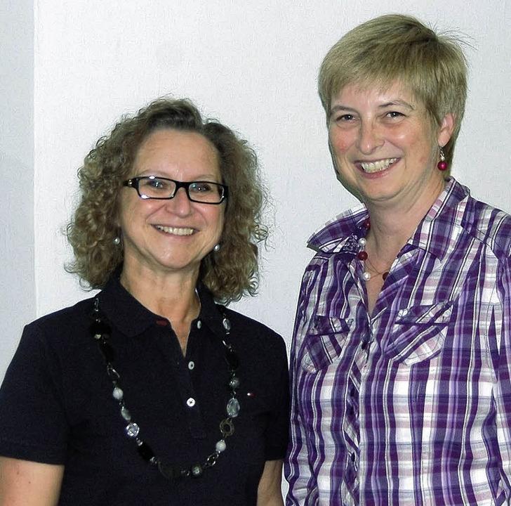 Philomena Fortwängler-Enz (links), Dir...torin und Initiatorin des Orchesters.   | Foto: Lutz