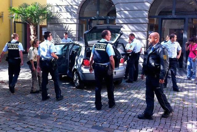 Showdown in der Altstadt von Freiburg – Fielen auch Schüsse?