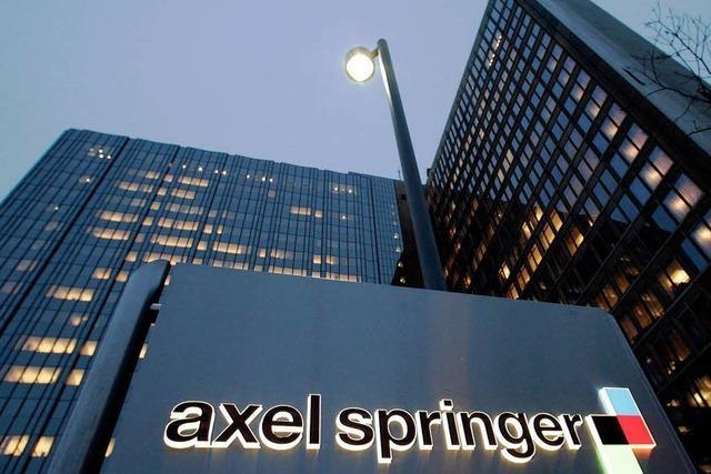 Springer will Teile der WAZ-Gruppe kaufen