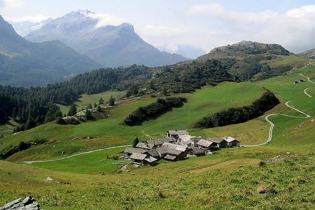 Unterwegs in Heidis Heimat im Bergell