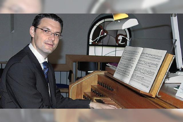 Orgelmusik mit viel Freude