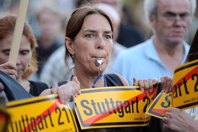 Linke will Zustimmung zu S 21 ignorieren