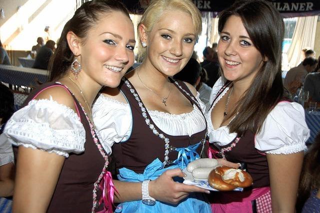 In Umkirch wird weiß-blau gefeiert