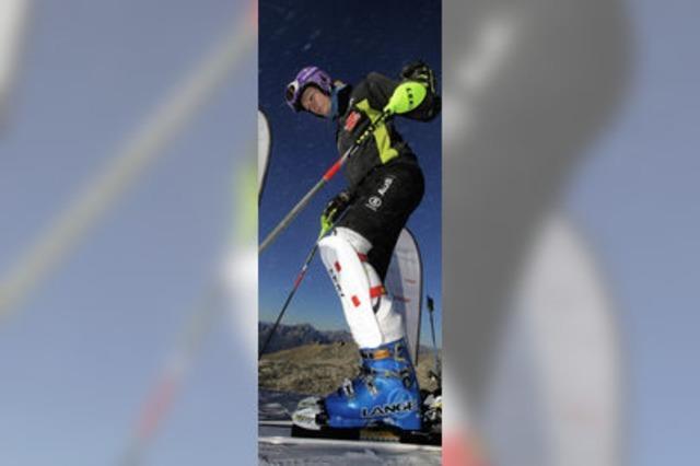 Letzte Tests für die alpine Saison