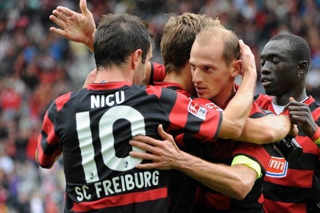 SC Freiburg: Barth und Reisinger trainieren wieder
