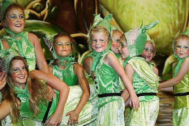 Elfen tanzen im Zauberwald