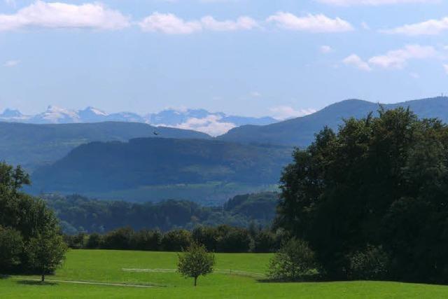 Enge Täler, weite Alpenblicke