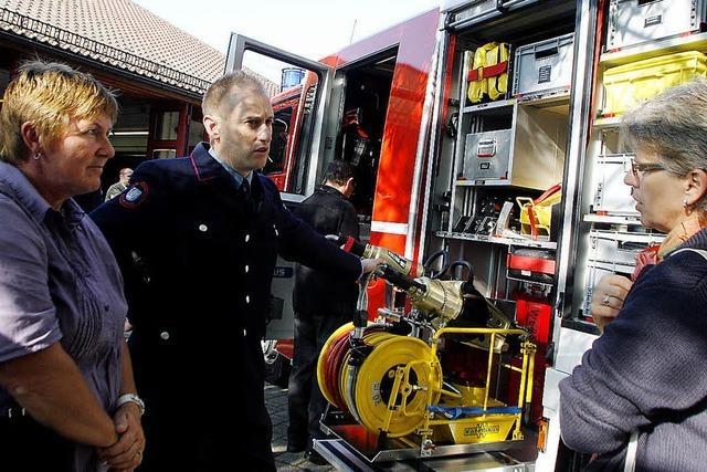 Die Feuerwehr hat ihre Schlagkraft erhöht