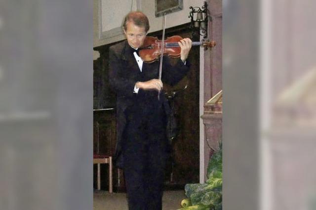 Virtuose Violinenklänge