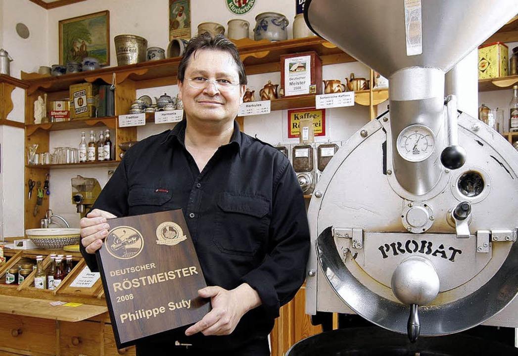 Kaffeeröster Philippe Suty ist im Alter von 51 Jahren verstorben.   | Foto: Heck