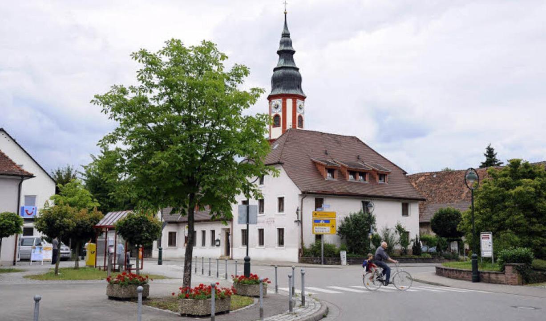 Heute sieht die historische Hochdorfer Mitte so aus.  | Foto: Schneider Ingo