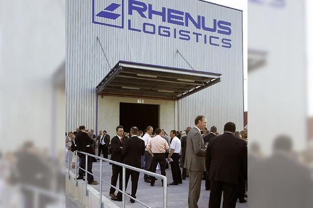 Rhenus-Logistikcenter eingeweiht