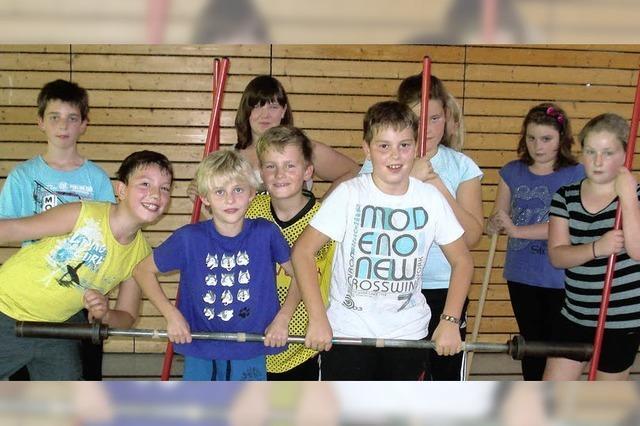 Training an der Hantel – auch für Kinder ein sinnvoller Sport