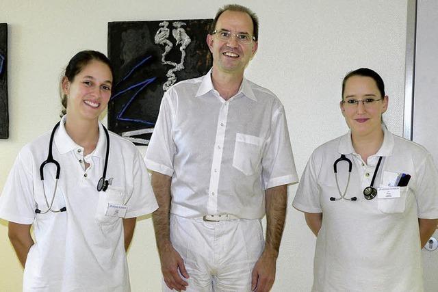 Ortenau-Klinikum: Seit einem Jahr werden zwei Arztassistentinnen ausgebildet