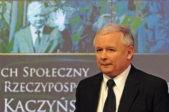 Kaczynski geht auf Merkel los