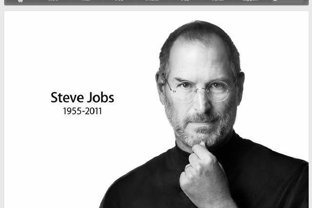 Apple-Gründer Steve Jobs ist tot