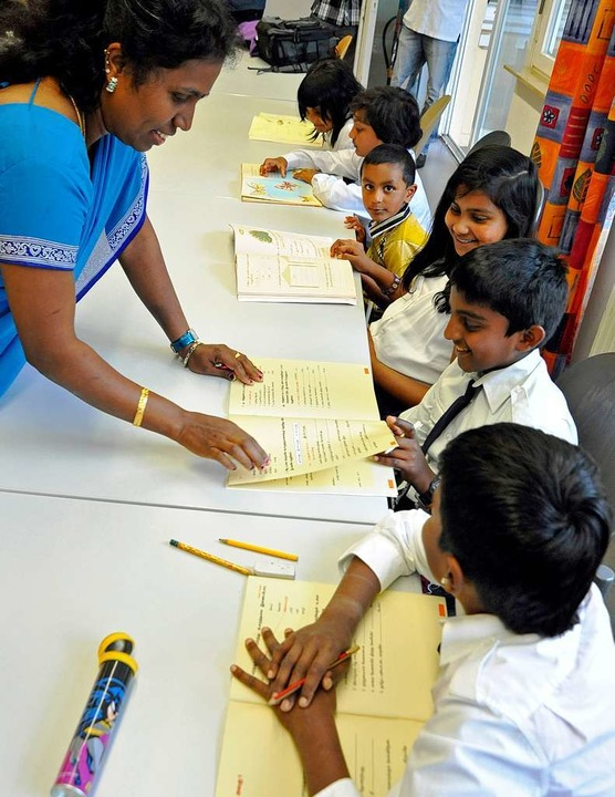 Tamilischer Bildungsverein in den Räumen der Caritas an der Komturstraße.  | Foto: Michael Bamberger