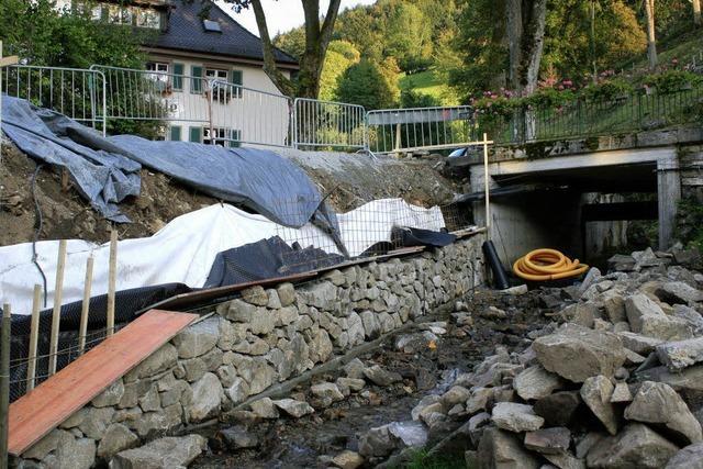 Hochwasserschutz und Haushaltslage