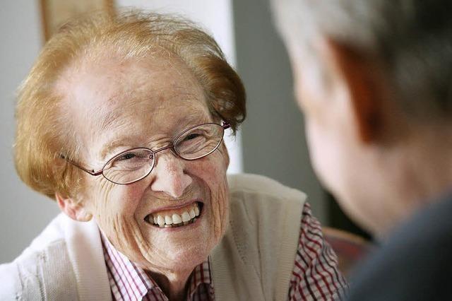Hermine Schätzle feierte 100. Geburtstag