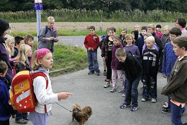 Grundschüler scheuen langen Schulweg nicht