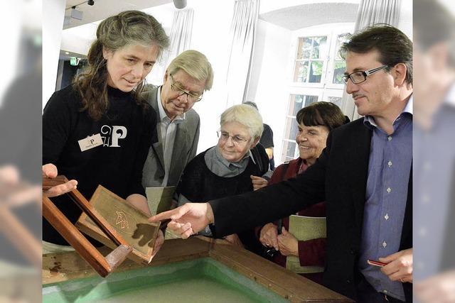 Das Stammhaus der Papiermühle in Basel wird umgebaut