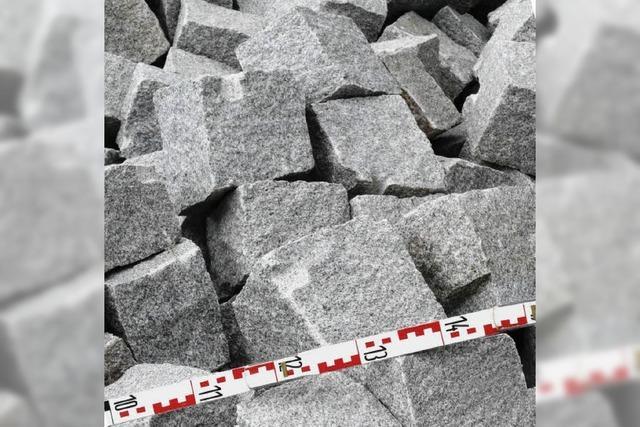 Granit verdirbt die Rechnung