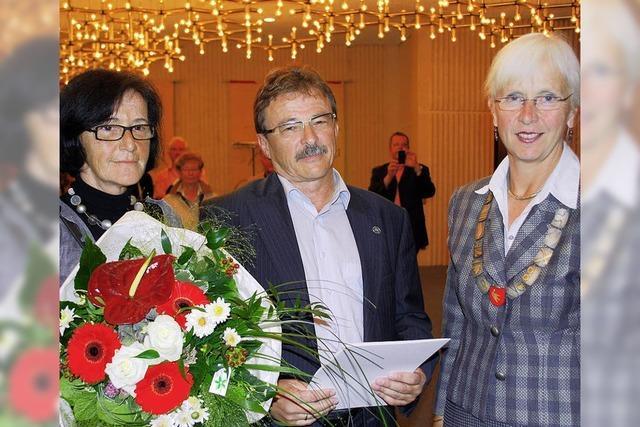 Landes-Ehrennadel für Karl-Frieder Sütterlin
