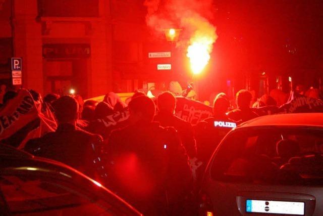 Polizei-Bilanz der Linken-Demo: 60 als gewaltbereit eingestuft