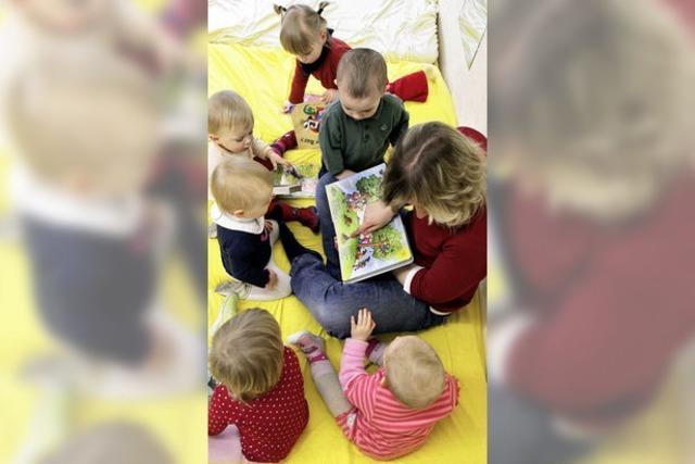 Mehr Geld für Kinderbetreuung