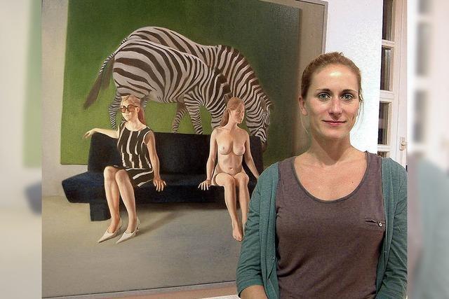 Kunstverein zeigt im Museum Gemälde von Nina Capek