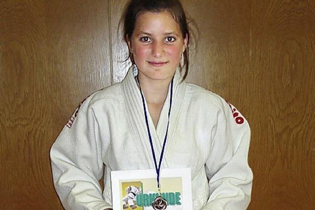 Bronzemedaille für Lea Haselwander