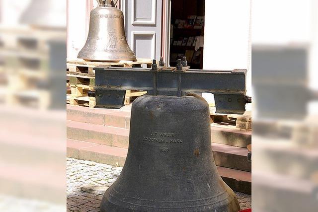 Erstes Läuten der drei neuen Glocken
