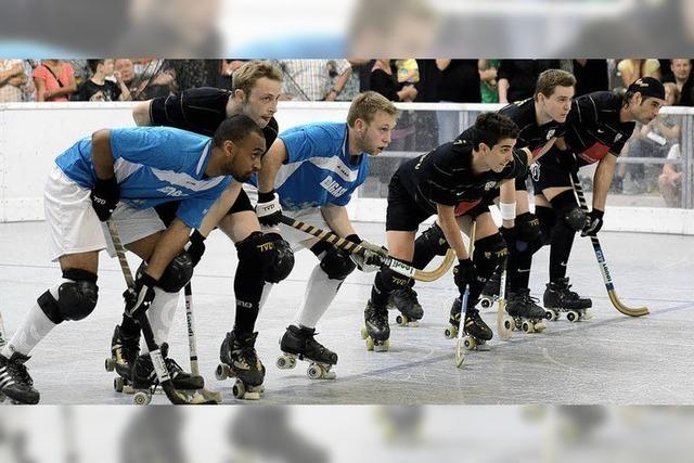 Rollhockeyteams starten in die Saison