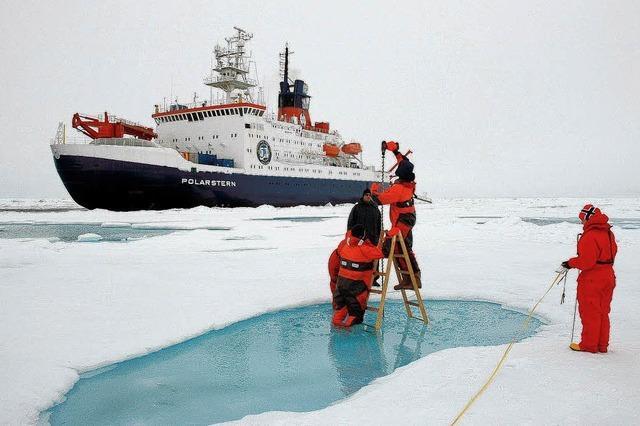 Expedition auf immer dünnerem Eis