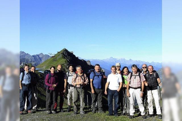 Arlberg zeigte sich von der nassen Seite