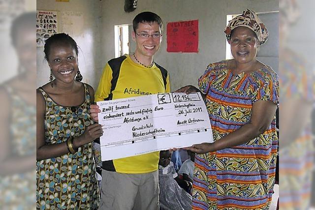 Afridunga berichtet über Besuch in Kenia