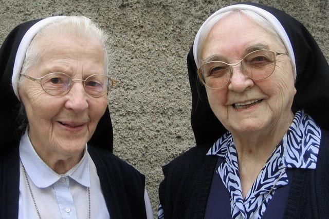 Ordensschwestern Alberta und Justina werden im Münster verabschiedet