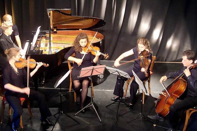Musikstudierenden eine Bühne bieten