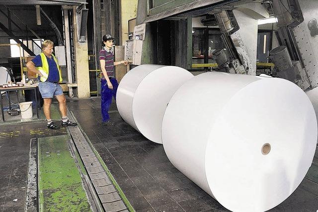 Papiermacher in Albbruck dürfen leise hoffen
