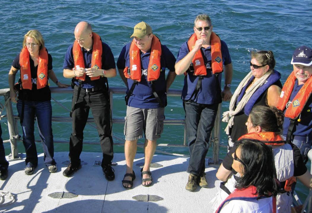 Einer der Höhepunkt war eine Bootsfahrt entlang der Atlantikküste.