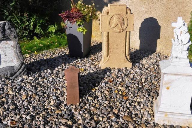 Historische Grabsteine finden gemeinsamen Platz