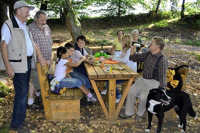 Einladung zum Picknicken