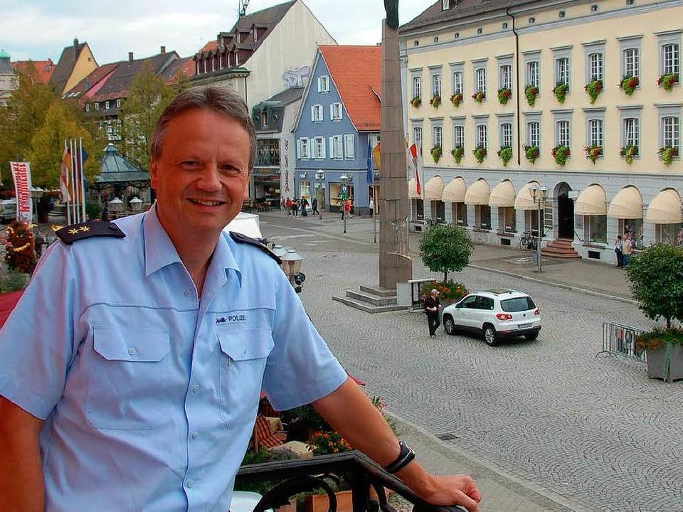 Er ist der neue Leiter des größten Polizeireviers in der Ortenau: Peter Dieterle    Foto: Helmut Seller