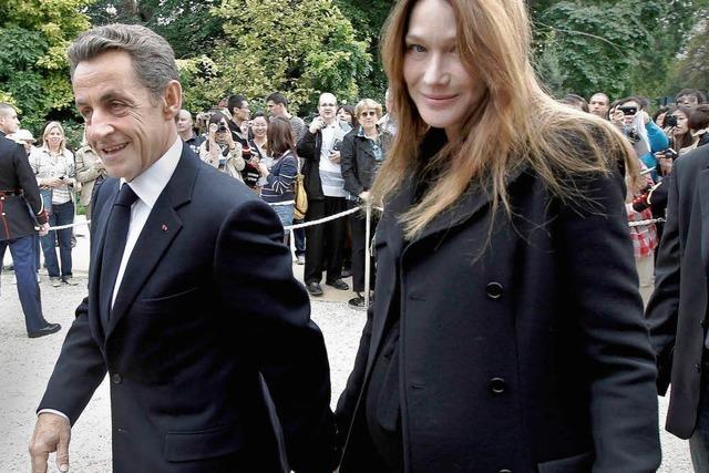 Wann kommt das Baby von Bruni und Sarkozy?