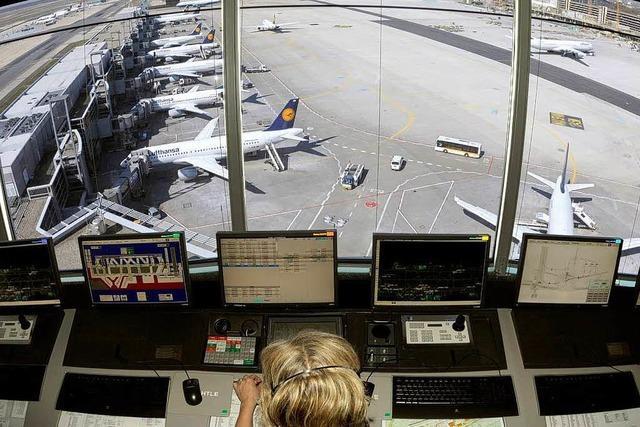 Fluglotsen wollen nur stundenweise streiken